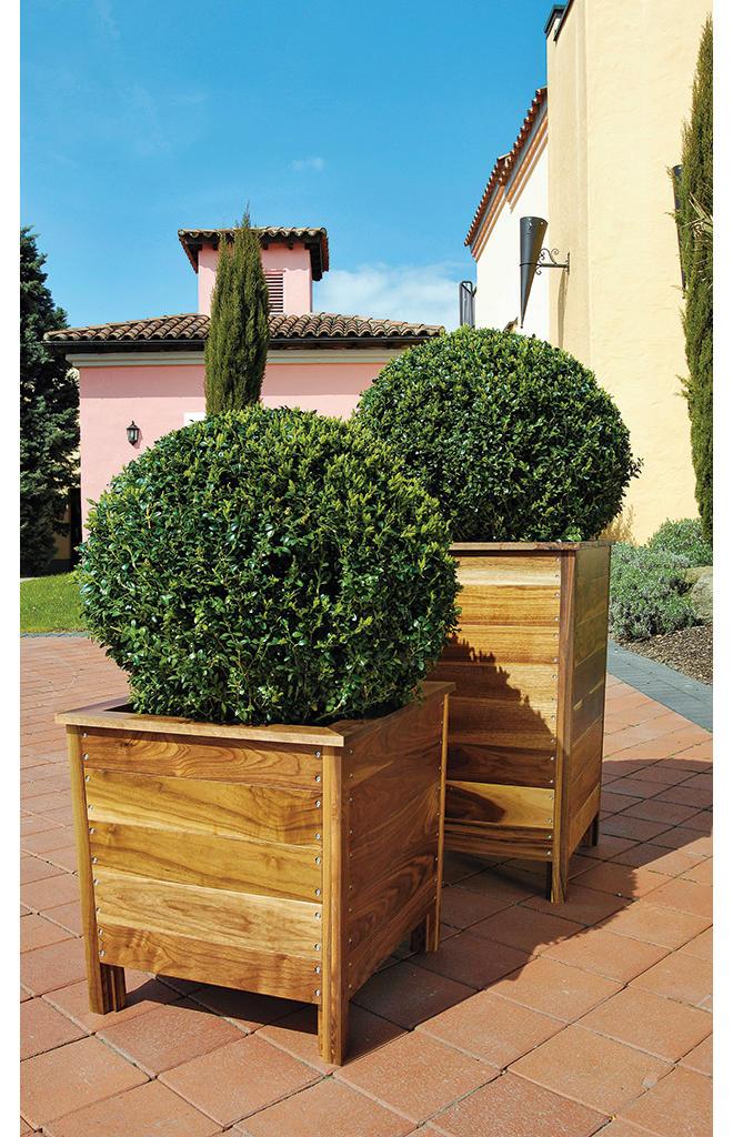 Pflanzkübel bauen