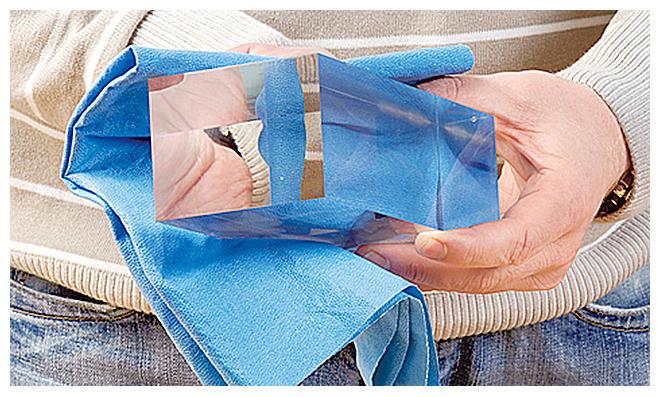 Plexiglas reinigen