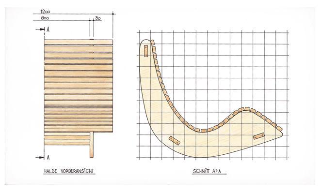 Gartenliege holz selber bauen  Saunaliege aus Holz | selbst.de