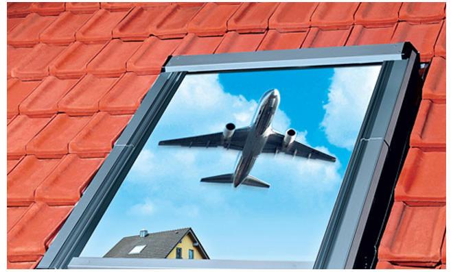Schallschutz: Dach