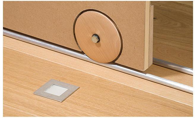 schrank schiebet r selber bauen. Black Bedroom Furniture Sets. Home Design Ideas