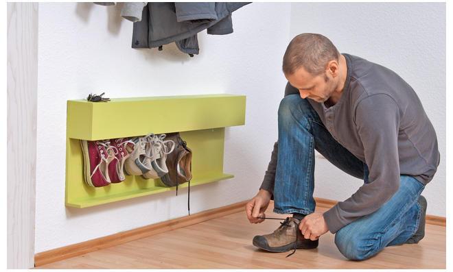Schuhregal selber bauen
