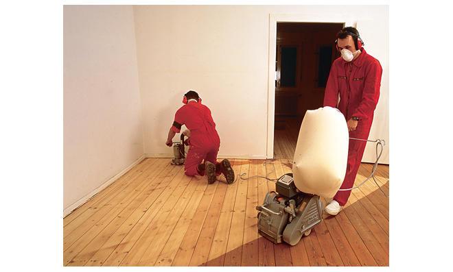 Holzfußboden Abschleifen ~ Holzdielen abschleifen selbst