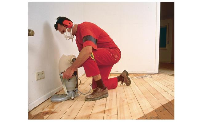Fußboden Schleifen ~ Holzdielen abschleifen selbst