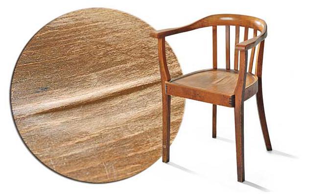 Sitzfläche Stuhl reparieren