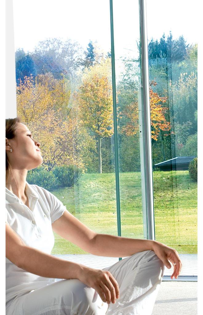 Fensterfolie mit Tönung