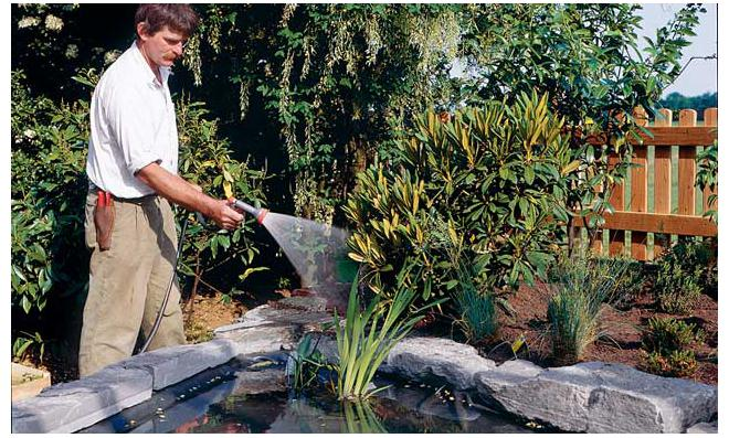 Gartenteich anlegen