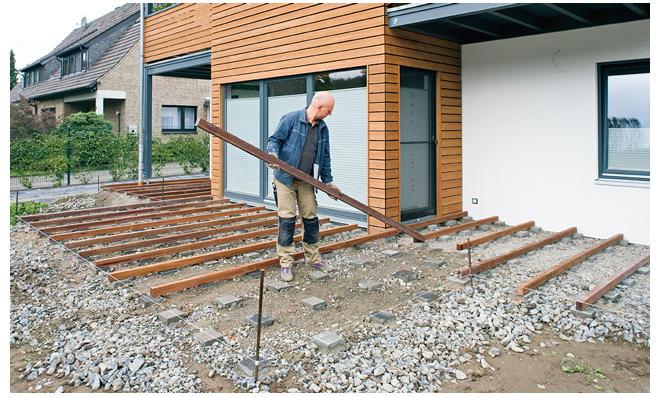 bankirai terrasse verlegen - vorteile des materials für ...