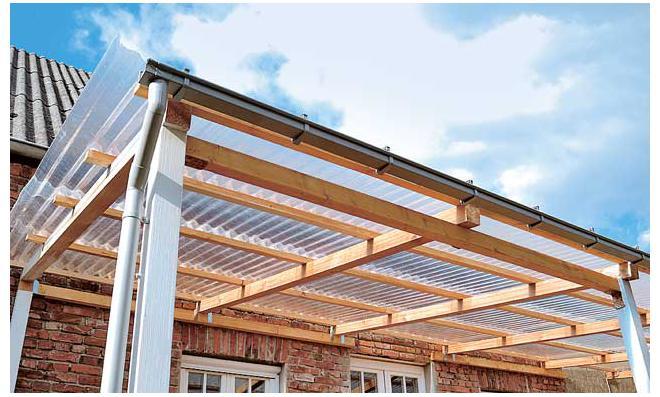 Terrassenüberdachung Aus Alu Selber Bauen Terrasse Von Design-ideen ...