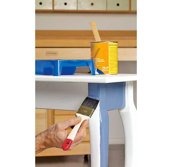 Tisch lackieren | selbst.de
