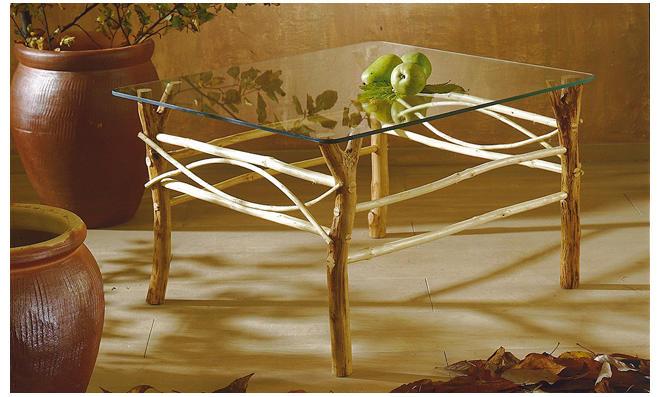 Möbel aus Ästen selber bauen