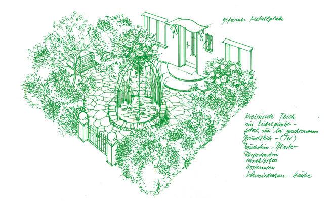traumgarten anlegen einladender vorgarten. Black Bedroom Furniture Sets. Home Design Ideas