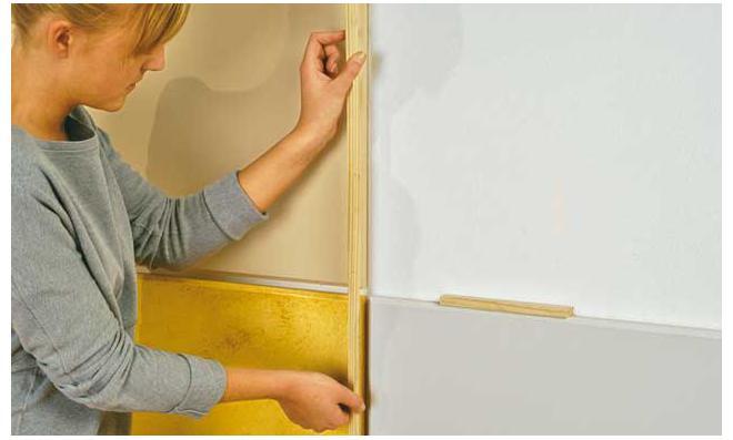 Whiteboard Selber Bauen holz wandverkleidung selbst de