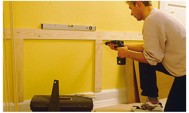 Wandvertäfelung Holz holzvertäfelung selbst de