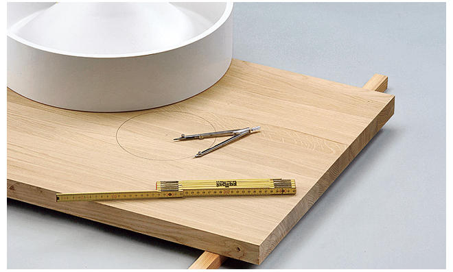 Waschtischplatte selber bauen  Holz-Waschtisch | selbst.de