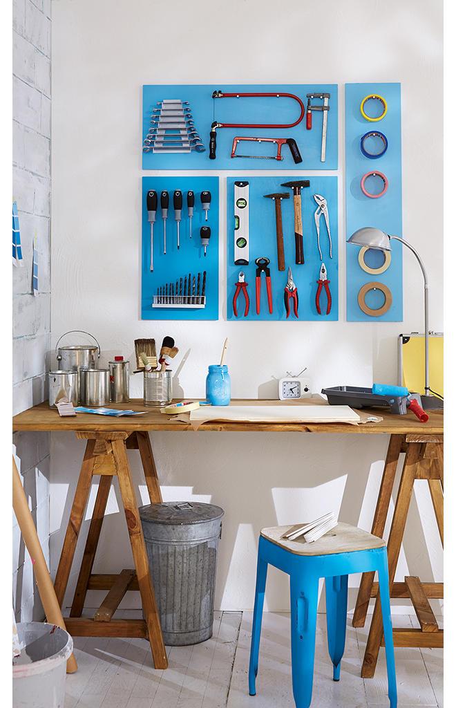 werkzeugaufbewahrung selber bauen. Black Bedroom Furniture Sets. Home Design Ideas