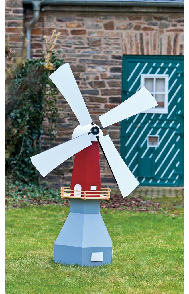 Bauplan Windmühle