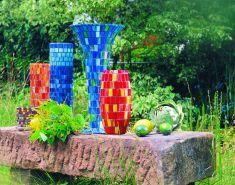 Mosaik-Vasen basteln