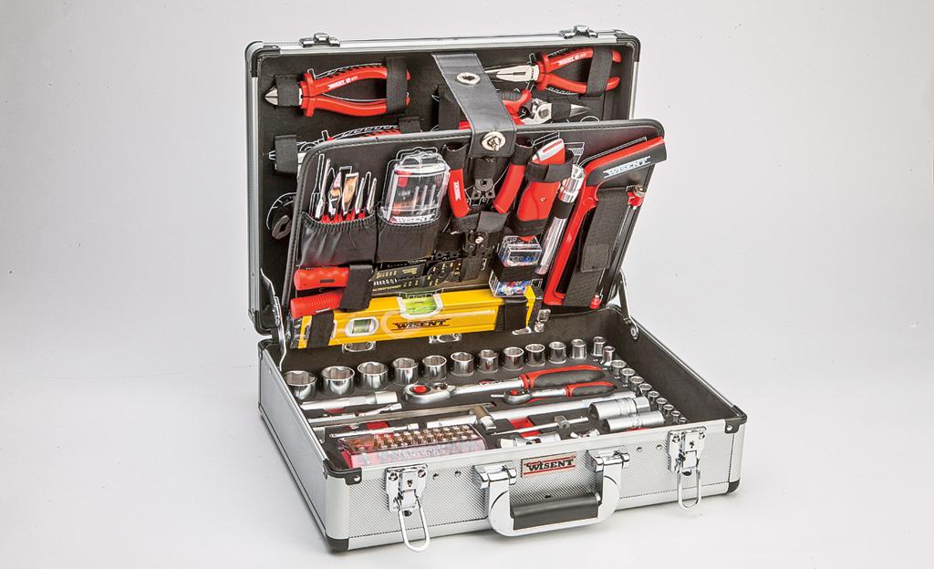 Werkzeugkoffer-Test
