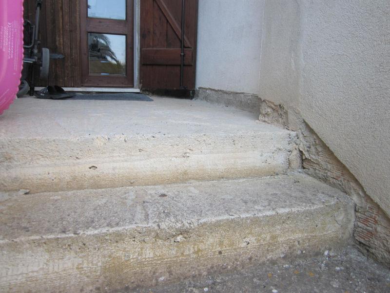 Treppe Betonieren Statt Fliesen Selbstde DIY Forum - Wendeltreppe fliesen anleitung