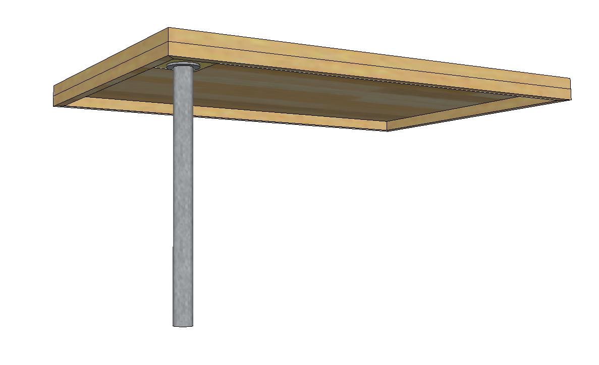 Schreibtisch selber bauen diy forum for Schreibtisch lackieren