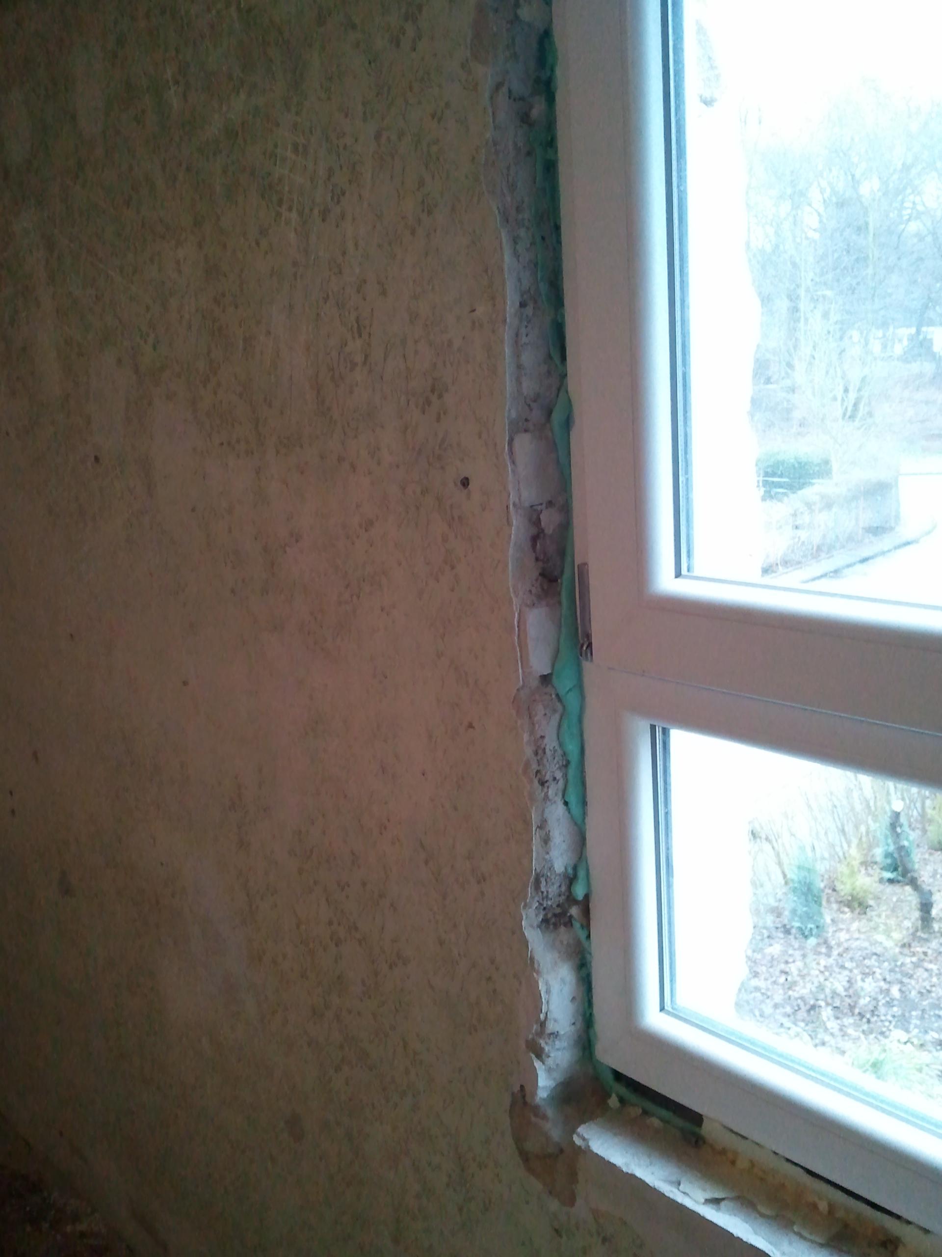 Gut bekannt Fensterlaibung beiputzen von innen   Selbst.de DIY Forum NT68
