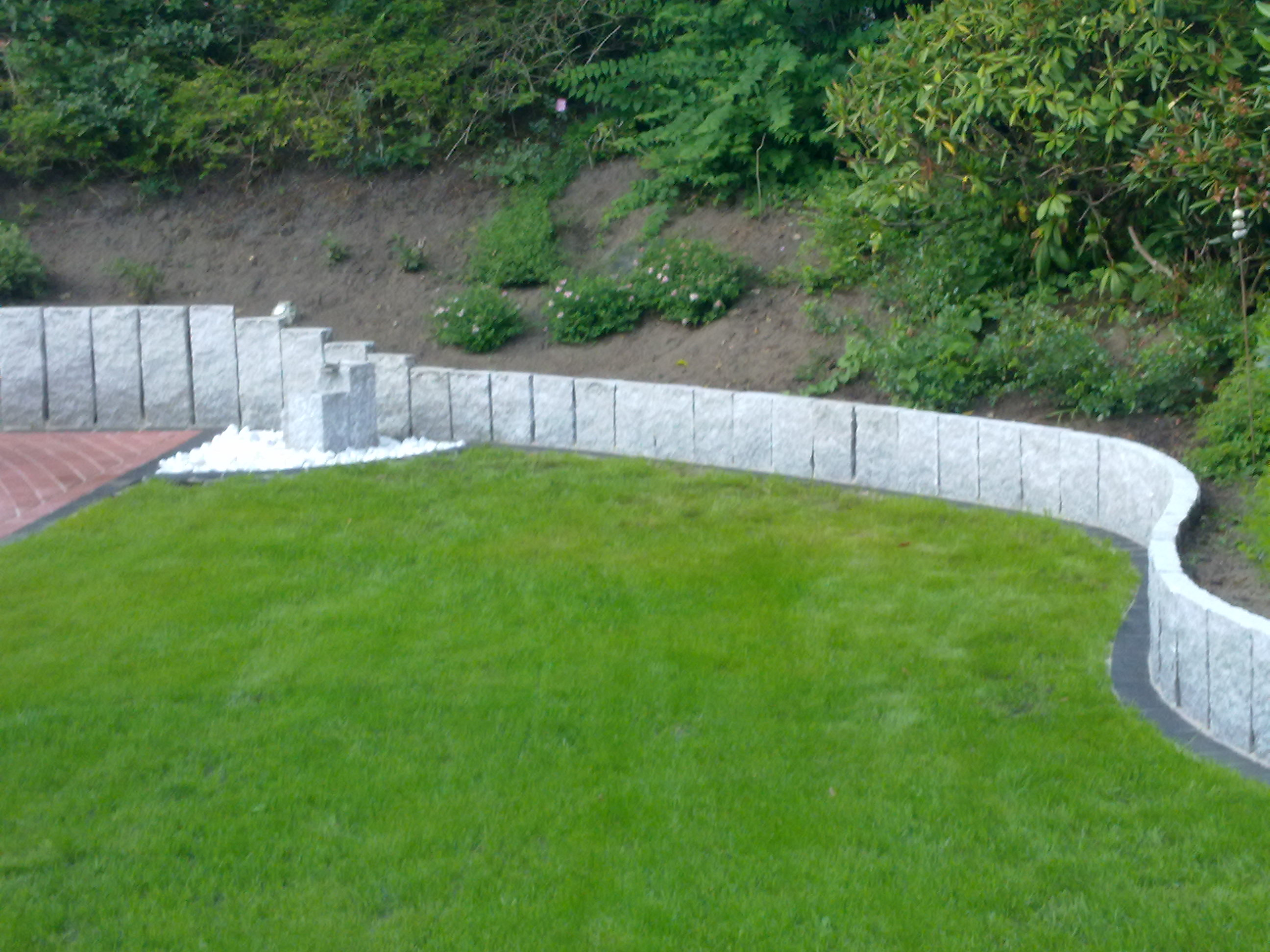 außenmauern aus beton