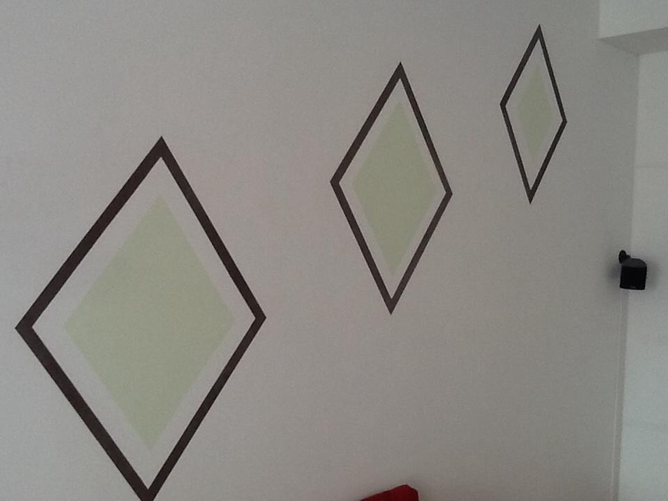 Wand Muster wandmuster überstreichen selbst de diy forum