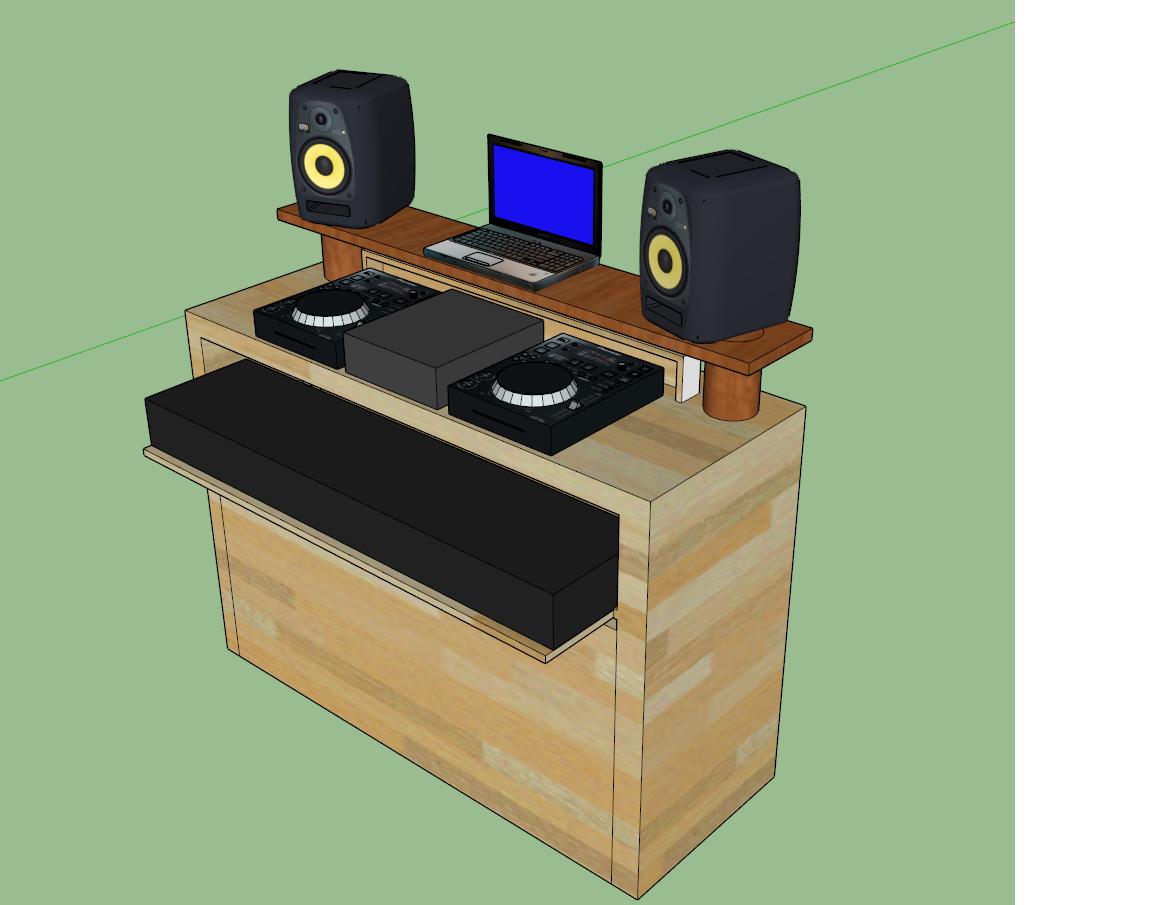 Dj Möbel der eigene musiktisch selbst de diy forum