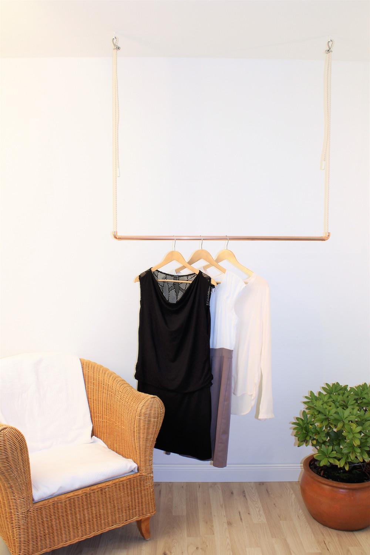 Hangende Kleiderstange An Dunner Deckenplatte Anbringen Selbst De